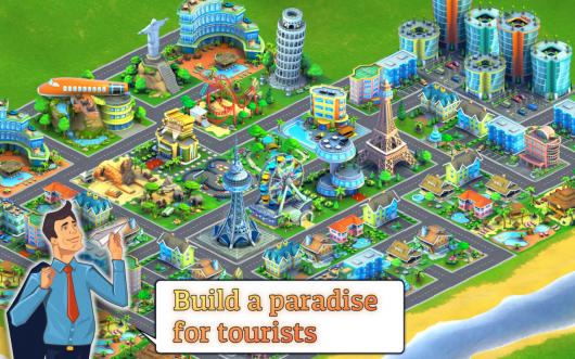 City Island: Airport Asia - остров на востоке