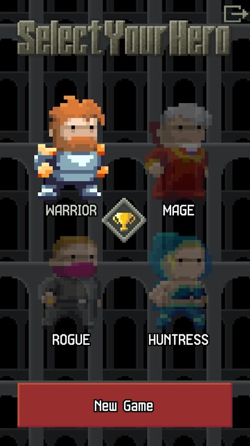 Pixel Dungeon - новое подземелье