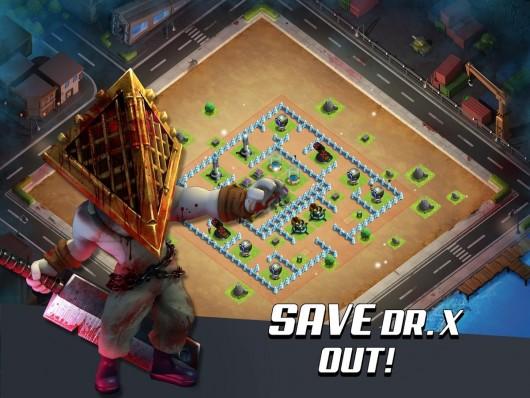 X-War: Clash of Zombies - зомби и герои
