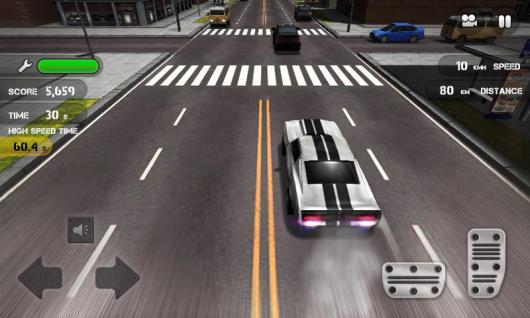 Race The Traffic - гонки по улицам города