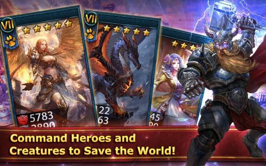 Deck Heroes - карточный мир