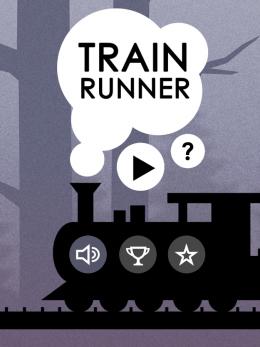 Train Runner - меню