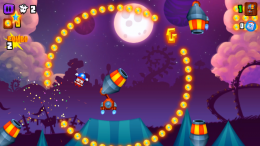 Galaxy Cannon Rider - игра