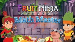 Fruit Ninja: Math Master - заставка