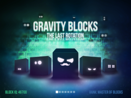 Gravity Blocks X - меню