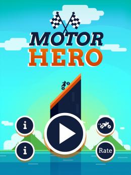 Motor Hero! - меню
