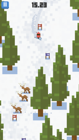 Skiing Yeti Mountain - игра