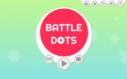 Battledots - меню