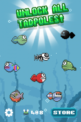 Tadpole Tap - герои