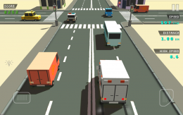 Blocky Traffic Racer - игра