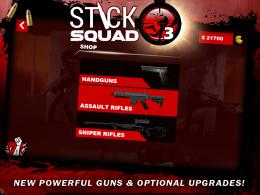 Stick Squad 3 - оружие
