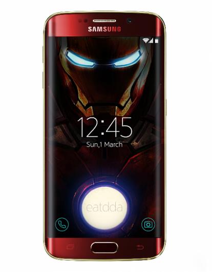 Смартфон Galaxy S6 edge Iron Man Limited Edition теперь доступен для покупки