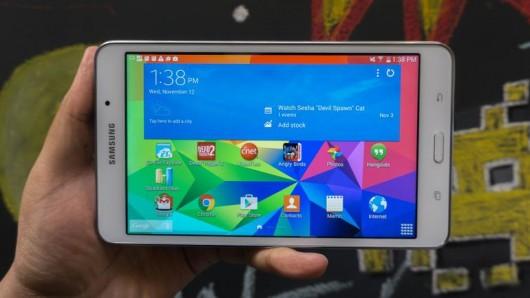 Планшеты линейки Galaxy Tab 4 начинают получать апдейты