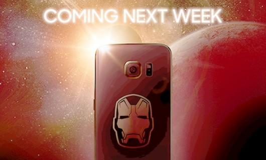 Выход на свет ограниченной серии Samsung Galaxy S6 Edge Iron Man Edition