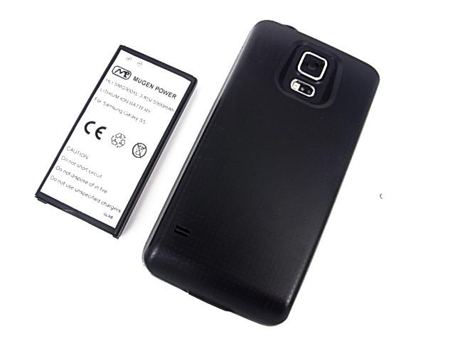 Mugen запускает аккумулятор с емкостью 5900mAh для Galaxy S5