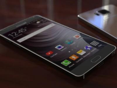 Предварительные рендеры Samsung Galaxy Note 5