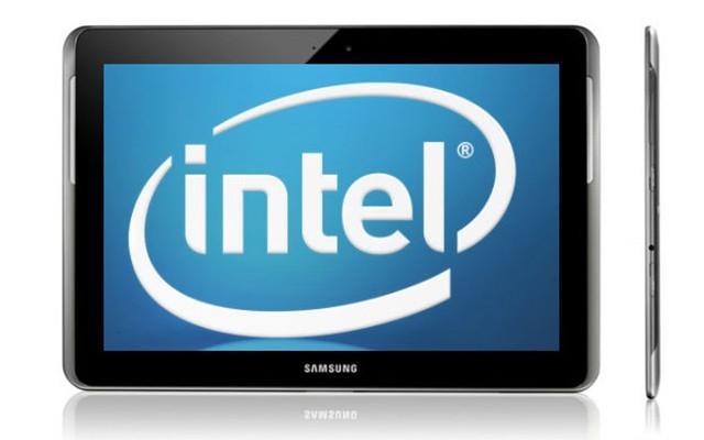 Samsung готовит планшет с процессором Intel