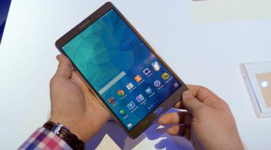 Владельцы Samsung Galaxy Tab S 8.4 обновляются до Android 5.0.2