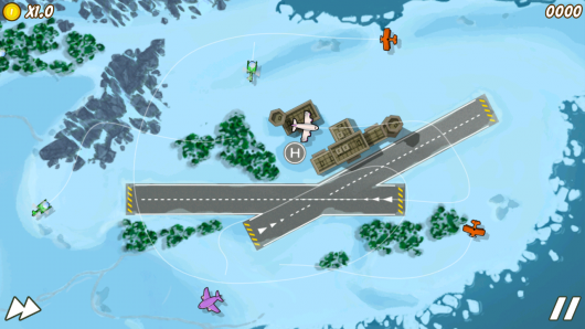 Air Control 2 - успешный полет