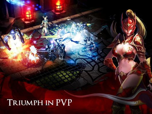 Blood Quest - шикарный мир персонажей