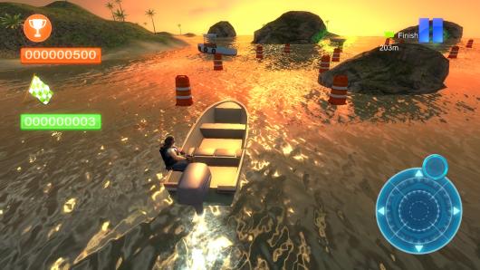 Speed Boat Parking 3D 2015 – скоростной катер