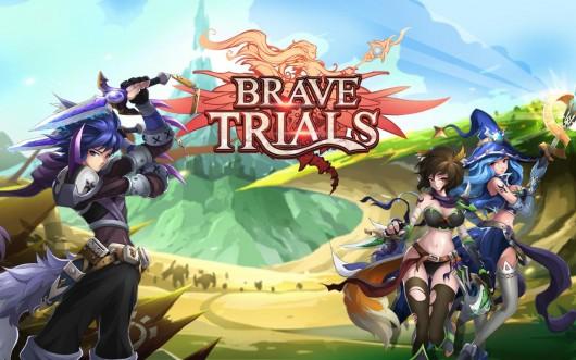Brave Trials - великие герои