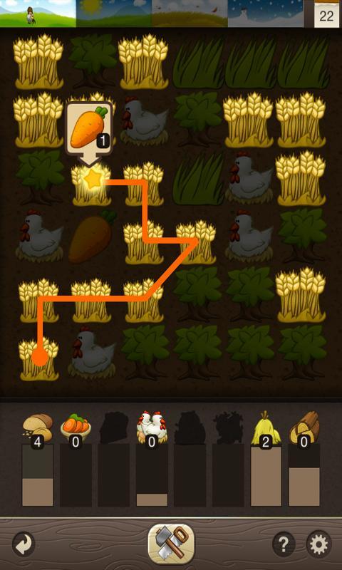 Puzzle Craft - сбор урожая
