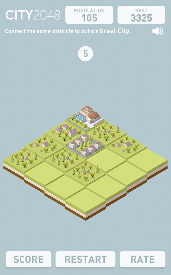 City 2048 - логическая игра