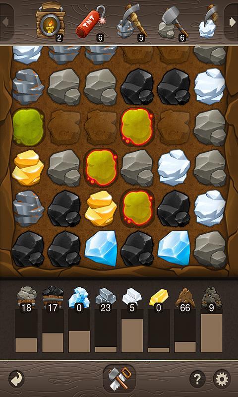 Puzzle Craft - новые камни
