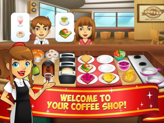 My Coffee Shop - веселая кофейня