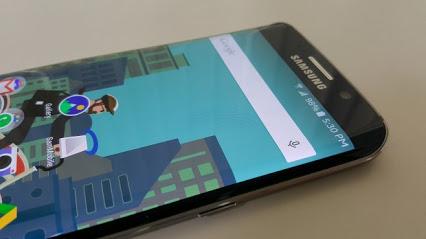 Изучение флагмана Samsung Galaxy S6 Edge под микроскопом