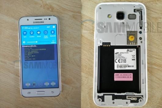 Первые фотографии Samsung Galaxy J5