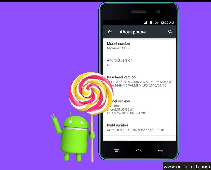 Android Lollipop набирает обороты