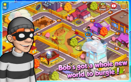Robbery Bob 2: Double Trouble - уровни