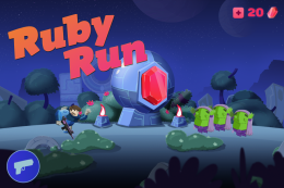 Ruby Run: Eye God's Revenge - заставка