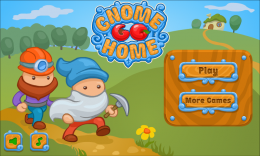 Gnome Go Home - меню