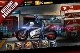 Death Moto 3 - гараж