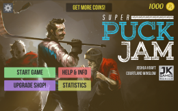 Super Puck Jam - меню