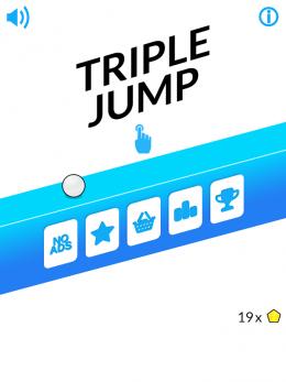 Triple Jump - меню