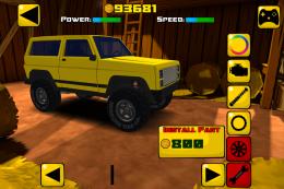 Truck Trials 2: Farm House 4x4 - гараж