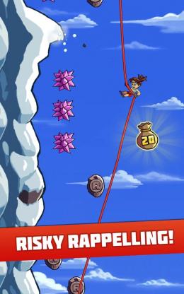 Radical Rappelling - игра