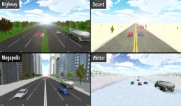 Highway Racer - трассы