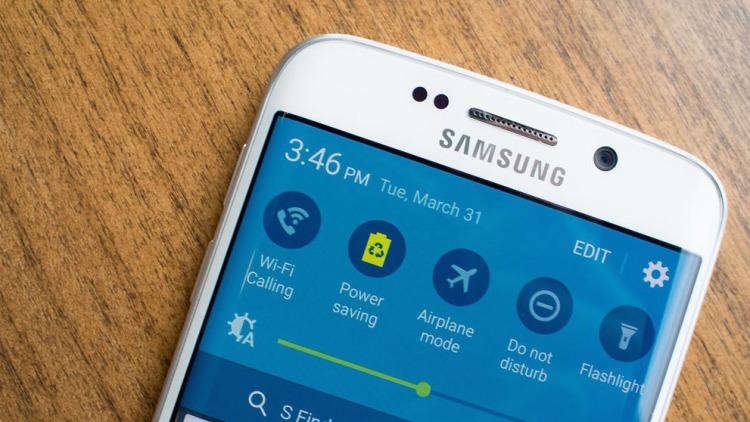 Samsung Galaxy S6 edge - прочность стекла