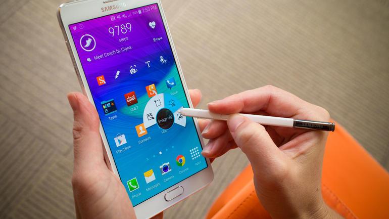 Устройство Samsung Galaxy Note 4 получает обновление