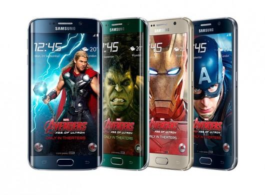 Оформление интерфейса смартфонов Samsung