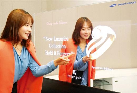 Компания Samsung представила зеркальные дисплеи