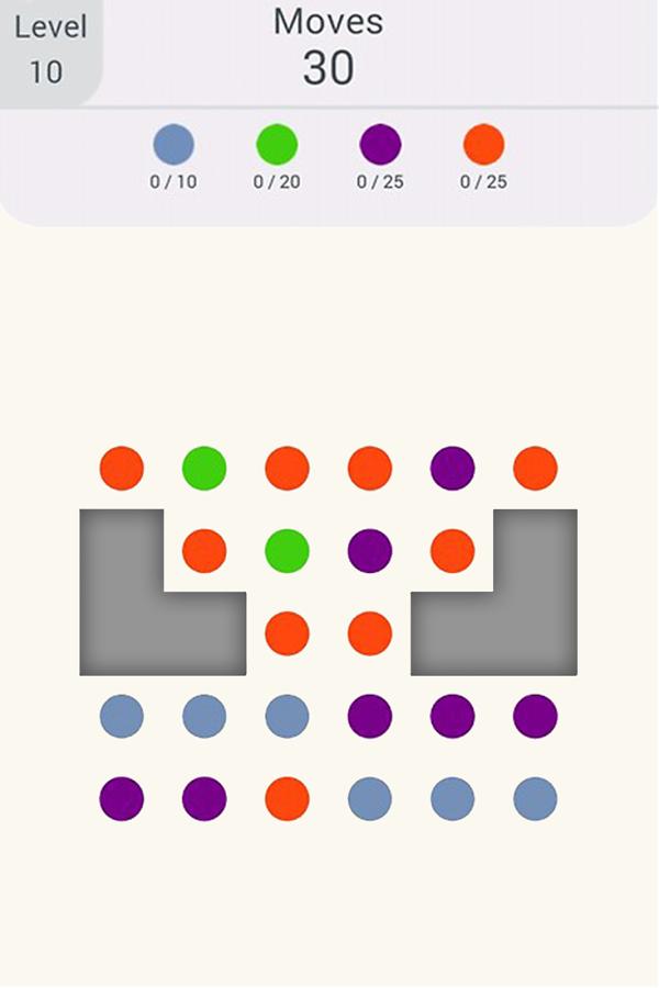 Connect The Dots - очередной уровень