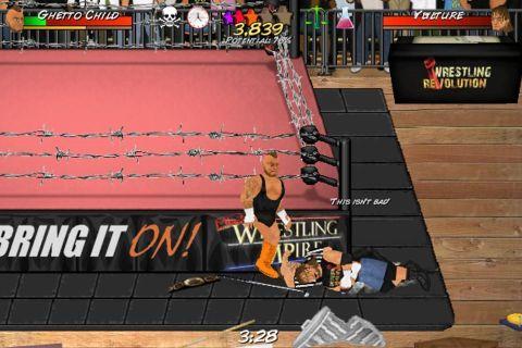 Booking Revolution (Wrestling) - отличная графика