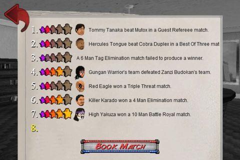 Booking Revolution (Wrestling) - новые схватки