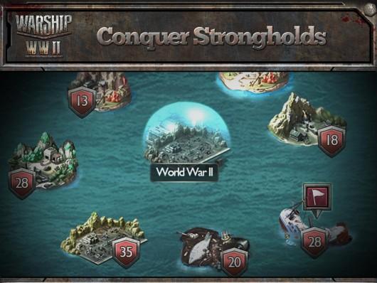 Warship WWII - выбор режимов